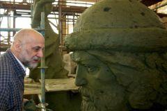 Салават Щербаков и голова Владимира