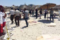После нападения террориста на пляже Туниса