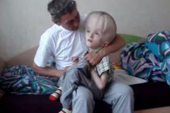 Последние месяцы Глеб Кислицын вместе с папой лежал в больнице