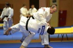 Владимир Путин на встрече со сборной России по дзюдо