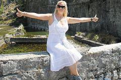 Наталья Гулькина в Черногории