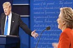 Дебаты Клинтон и Трампа 26.09.2016