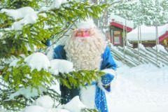 Владислав Демченко в образе Деда Мороза