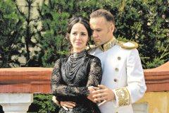 Валерия Ланская (Анна Каренина) и Дмитрий Ермак (Алексей Вронский)