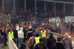 Драка между болельщиками «Арсенала» и «Торпедо» в Туле 5 апреля