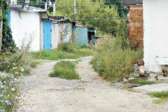 Гаражи, где произошла трагедия – место малолюдное
