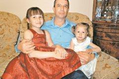 Евгений Панчук с дочками