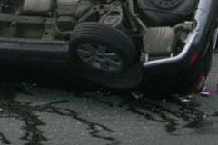 ДТП произошло на 10 километре Бетонного кольца