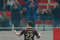 Сборная России выиграла отборочный матч Евро-2016 у Молдавии (2:1)