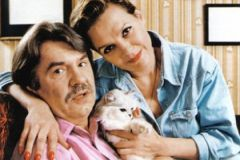 Александр Фатюшин с женой, актрисой Еленой Мольченко