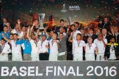 В 2016 году финал Лиги Европы прошел в Базеле
