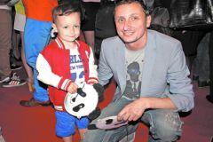 Вадим Галыгин с сыном