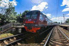 Пожар в вагоне электрички не повлиял на движение поездов