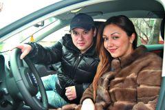 Андрей Гайдулян со своей невестой Дианой