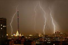 Утром 27 июля на московский регион обрушилась страшная гроза