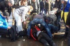 В общей сложности в результате взрыва пострадало около 15 человек