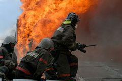 Первый пожарный расчёт прибыл на место происшествия спустя четыре минуты