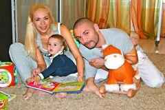 Анастасия с семьей