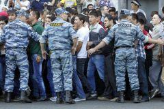 Акция, которую посетили муфтий региона Исса Хаджи Хамоев и глава республики Юнус-Бек Евкуров, была согласована с властями