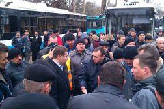 Забастовка «Крымтроллейбуса»