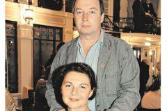 Сергей Урсуляк с женой Ликой Нифонтовой