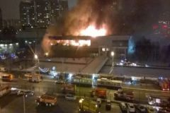 Пожар мог возникнуть из-за неисправности электрооборудования