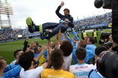 «Зенит» победил на Чемпионате России по футболу
