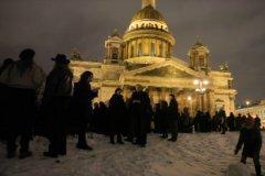 Митинг против передачи Исаакиевского собора РПЦ 13 января 2017 года