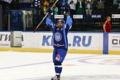 Капитан минского «Динамо» Алексей Калюжный