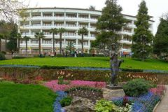Парк, как и санаторий, раньше был личной территорией украинского олигарха Сергея Таруты