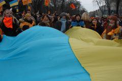 Причина всех бед Украины заключается в цветах на флаге