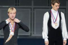 Евгений Плющенко и Максим Ковтун