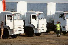 В субботу в Луганск прибыли первые 70 грузовиков из гуманитарного конвоя