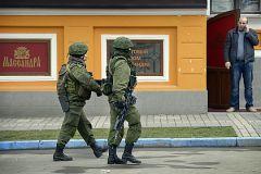Российские войска в Крыму