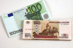 С февраля курс рубля растет по отношению к валюте