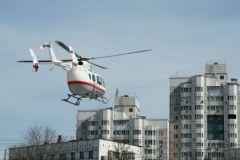 Пока над Москвой летают только вертолёты экстренных служб