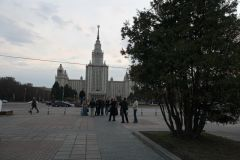 Около МГУ произошло задержание со стрельбой