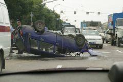 Авария произошла на улице Кораблестроителей в Санкт-Петербурге