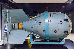 Макет первой в СССР атомной бомбы