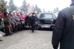 Фото с церемонии похорон Риммы Марковой 17 января