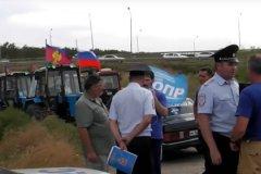 Запланированный на 28 марта «тракторный марш» кубанских фермеров так и не начался благодаря местным силовикам