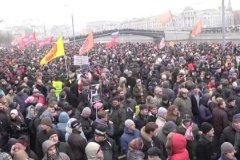 Митинг протеста на Болотной площади в Москве, декабрь 2011 года