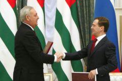 Дмитрий Медведев и Сергей Багапш