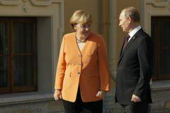 С президентов РФ Ангела Меркель возложит венок к могиле Неизвестного солдата 10 мая