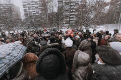Митинг жителей Восточного Дегунина против строительства супермаркета