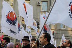 Митинг работников кино и телеиндустрии в Москве
