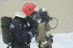 Площадь возгорания составила 25 кв. м