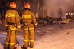 Информация о пожаре появилась в воскресенье, 6 декабря