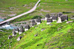 Более половины территории Осетии составляют равнины и низменности