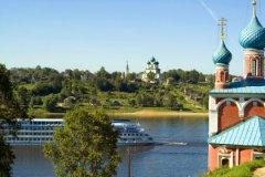 Часть городов Ярославской области расположена на Волге